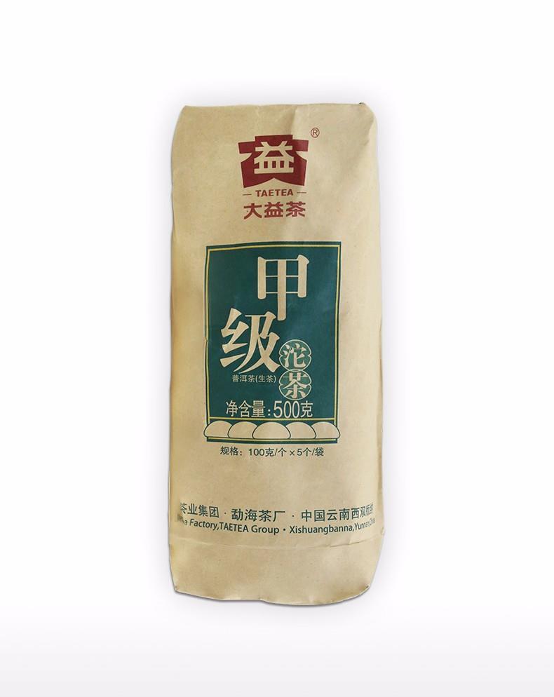 2018大益茶甲沱(生茶)  1801